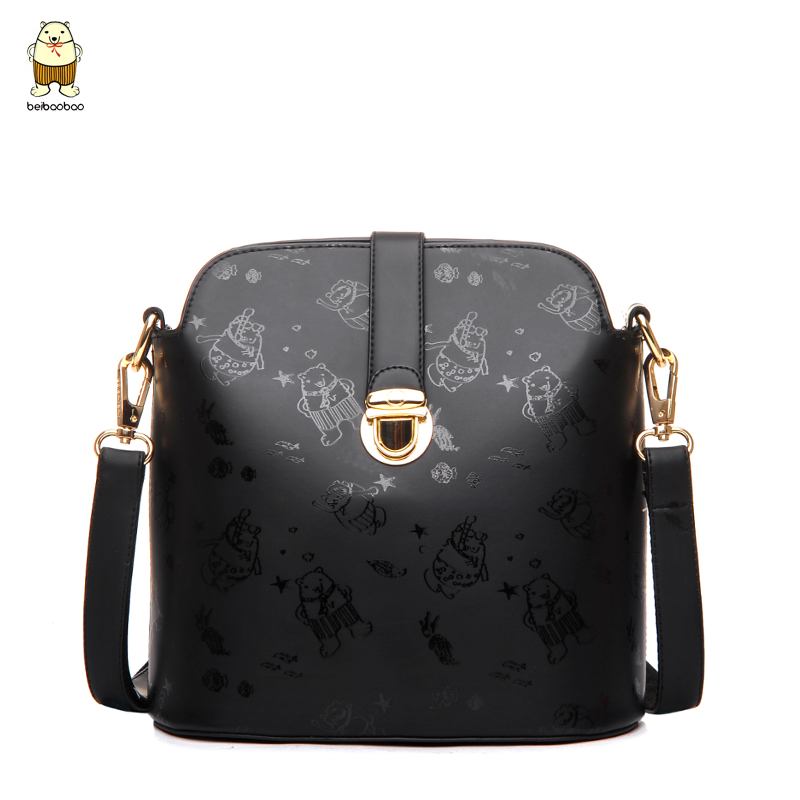 ec429245a5b0 Get Quotations · North bag 2015 new fashion handbags shoulder bag diagonal  small bag cute cartoon bear simple small