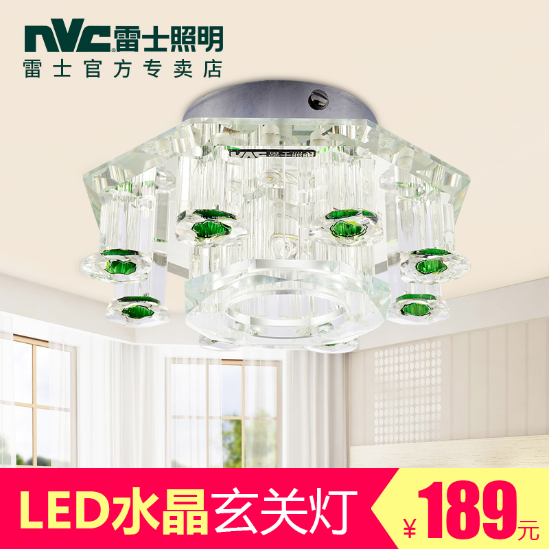 Nvc lighting led ceiling kitchen lights balcony aisle lights porch lamp crystal wall lamp wall lamp creative lighting lamps