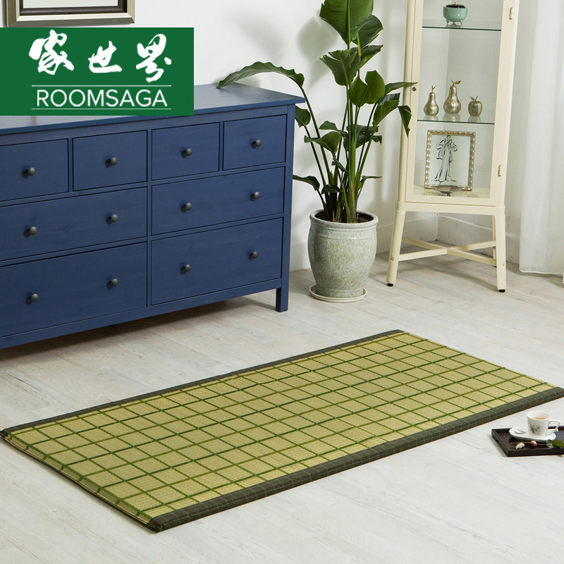 Of the world's lunch mat mat summer student dormitory single m mat mats sided thick warp and weft