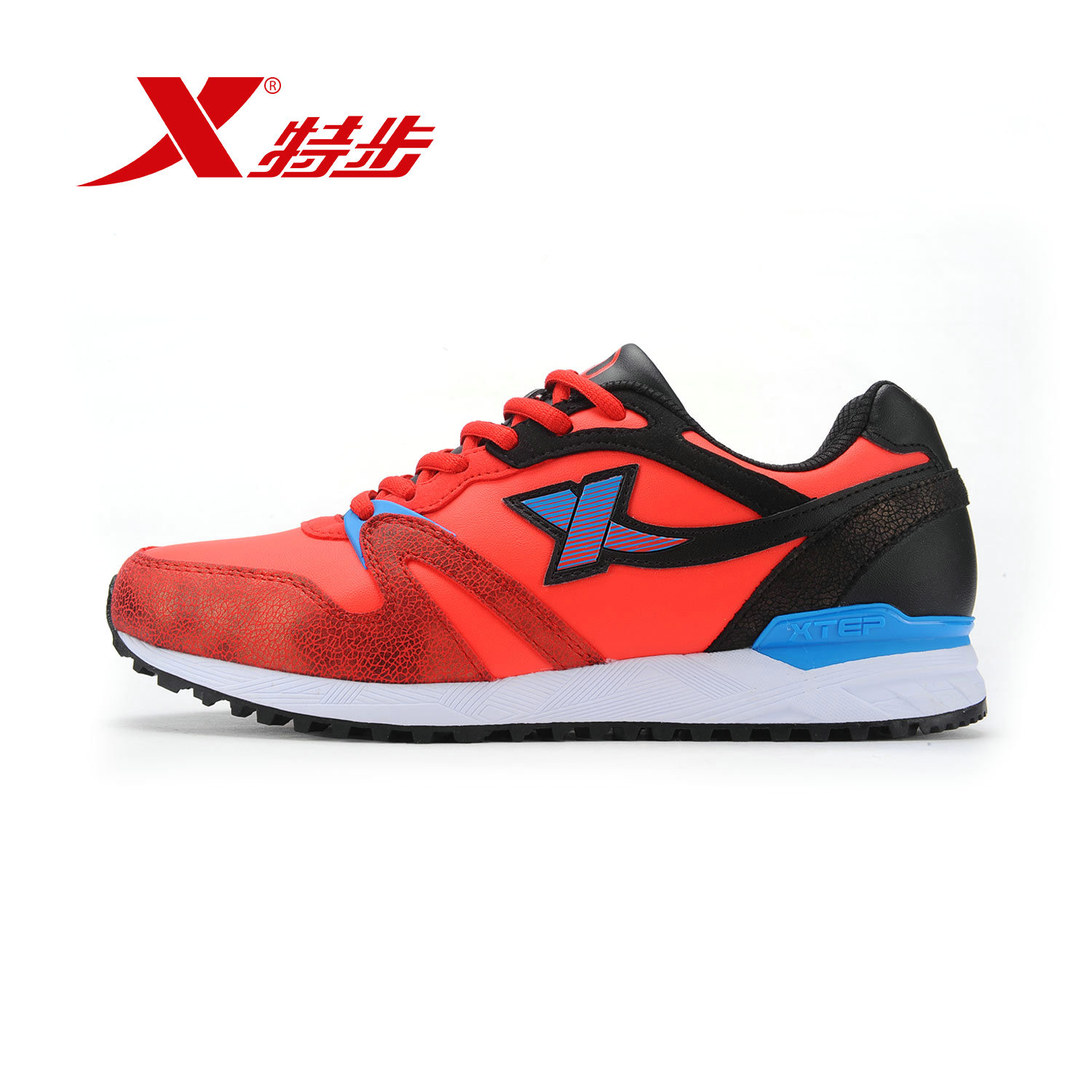[Official] xtep xtep men's casual shoes men 2016 new fall fashion casual sports shoes running shoes to keep warm