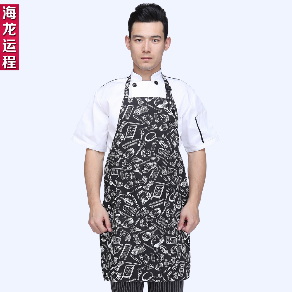 Oilproof restaurant overalls aprons apron halter apron kitchen aprons chef aprons work aprons