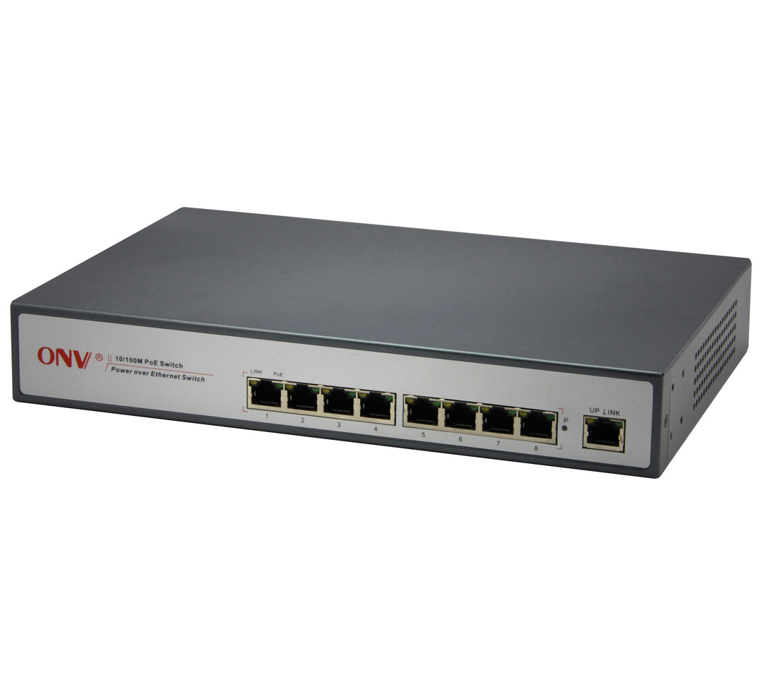 Optical network poe31008p at ethernet poe power supply switch 8 mbps high power intelligent power