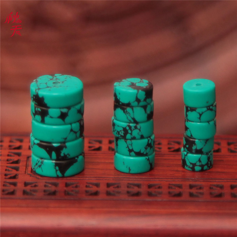 Optimization turquoise spacer spacer loose beads spacer beads xingyue pu tizi bracelets necklaces diy accessories accessories