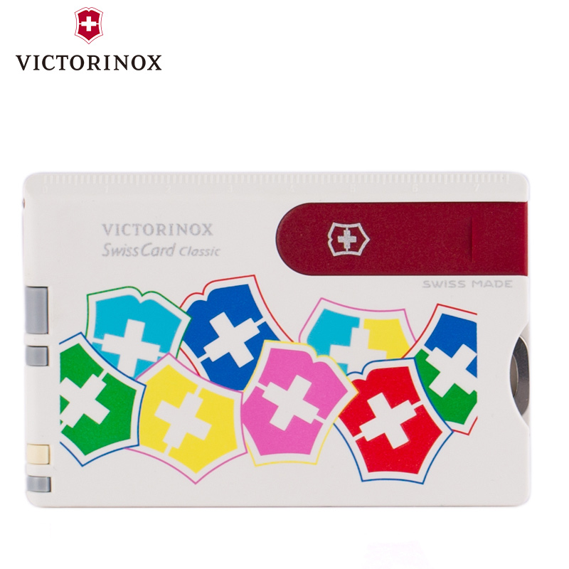 Original genuine victorinox swiss army swiss army knife card 0.7107.841 colorful counter genuine