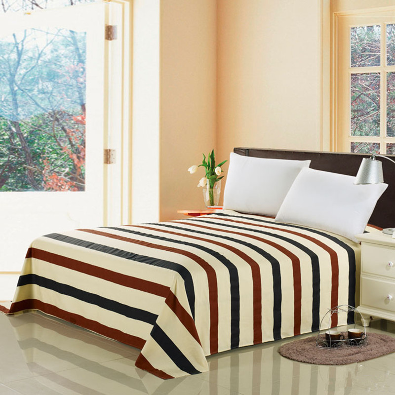 Originated from amoy textile cotton printed cotton bed linen single piece of cotton bedspread single or double bedding linens single product g