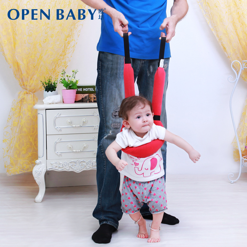 Oupei baby basket type toddler with summer breathable dual children learning to run with anti lost baby with free shipping