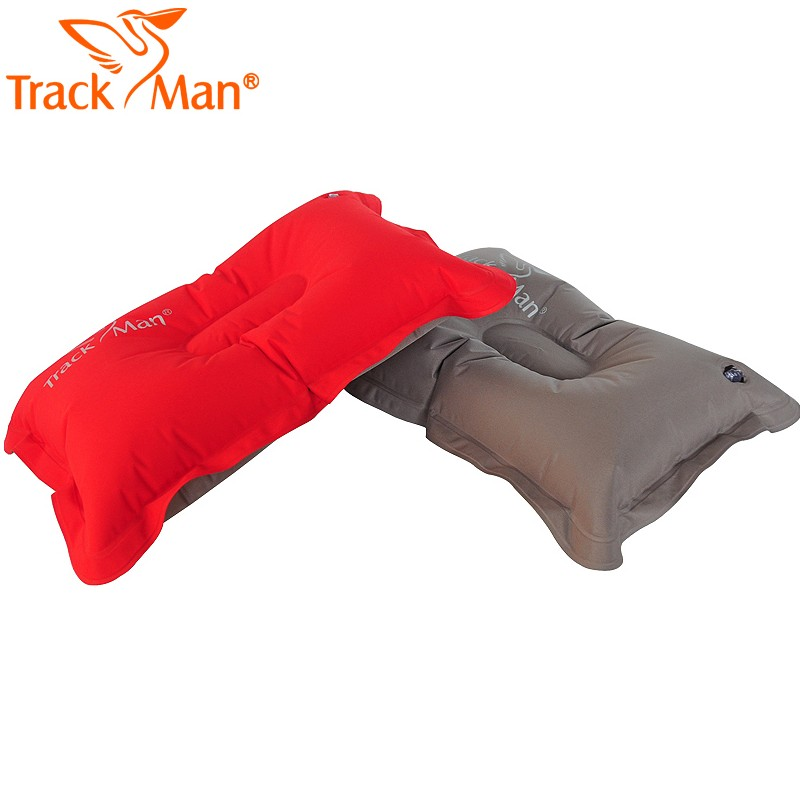 Outdoor camping automatic inflatable pillow travel pillow lunch break pillow lightweight portable thickening aviation pillow damp