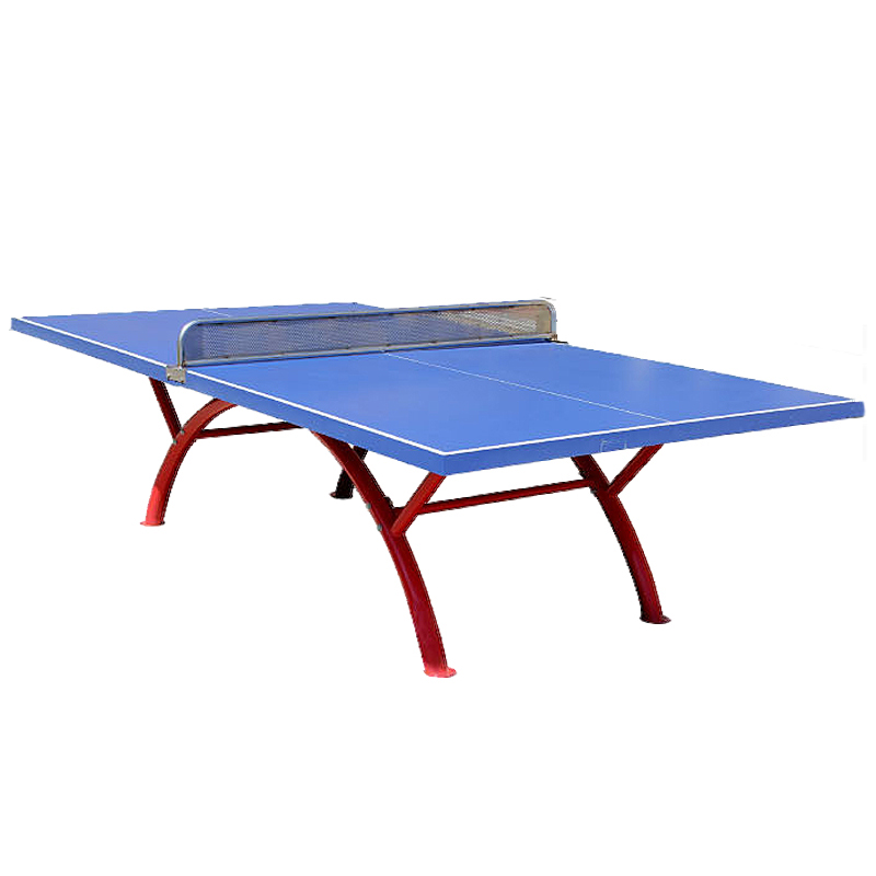 Outdoor waterproof sunscreen rainbow table tennis table leg table tennis table tennis table tennis table tennis table tennis tables household
