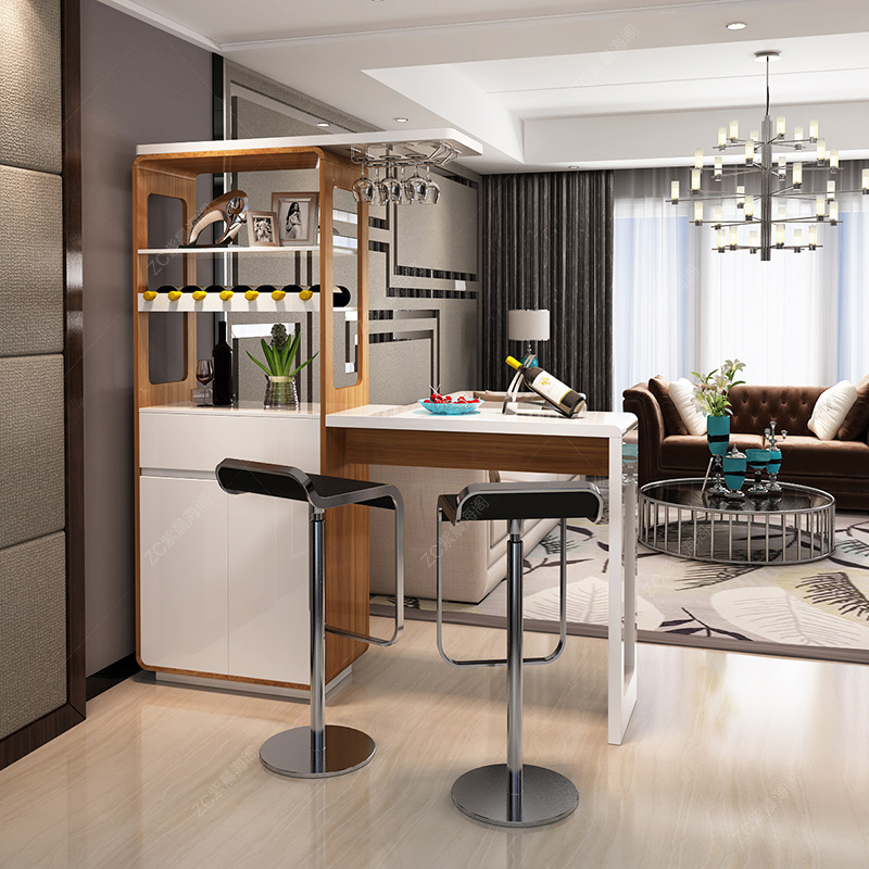 Get Quotations · Paint Modern Minimalist Home Bar Off The Living Room Wine  Cabinet Between The Cabinet Office Entrance