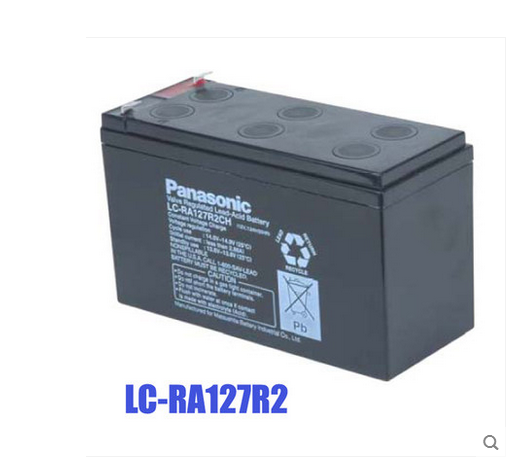 Panasonic panasonic panasonic v battery 12v7. LC-RA127R2UPS 2 lead acid battery battery