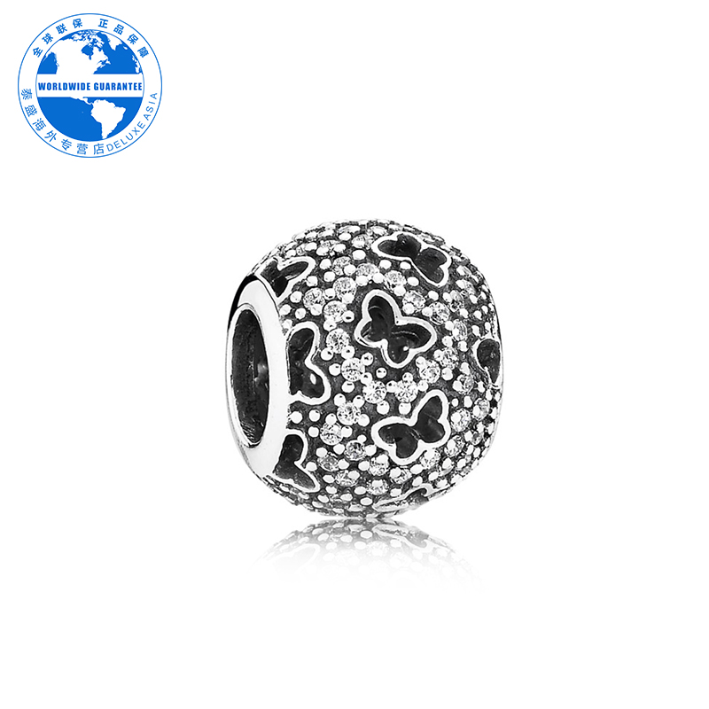 Pandora/pandora 925 silver silver string decoration authentic fashion lady exquisite 791482CZ