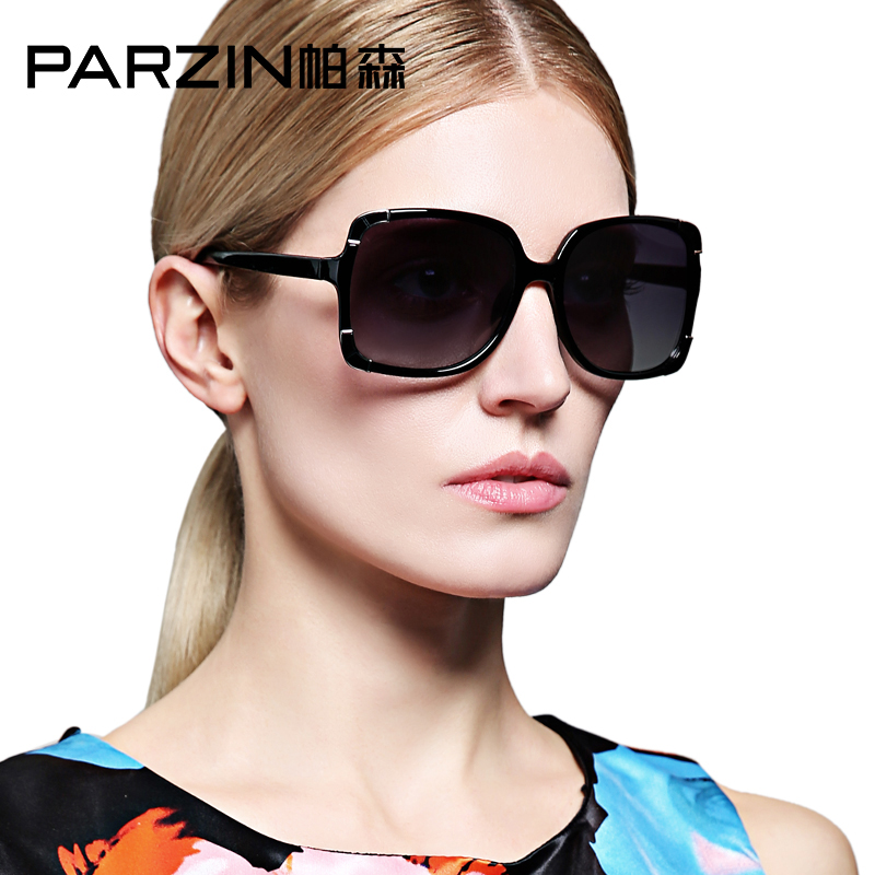 Parson sunglasses female elegant new retro fashion ladies large frame sunglasses polarized sunglasses 9276