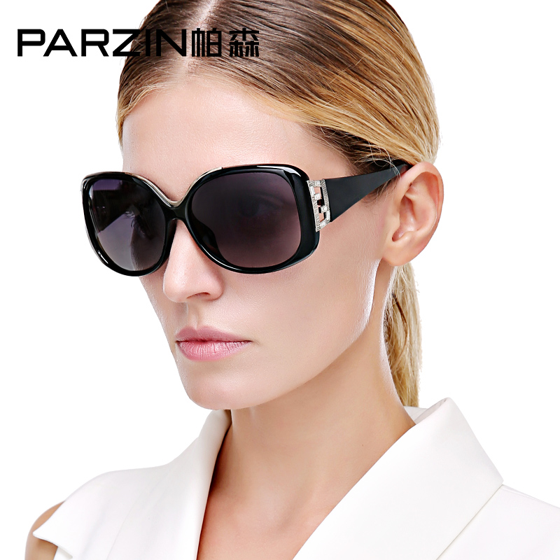 Parson sunglasses female elegant new retro fashion ladies large frame sunglasses polarized sunglasses 9278