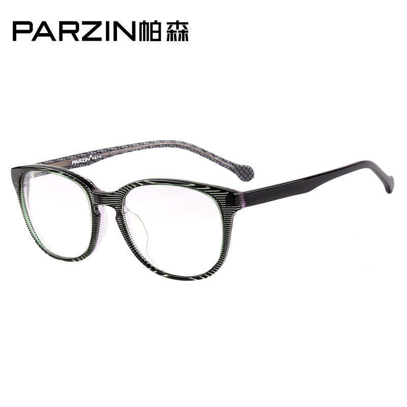 Parsons student vintage theatrical spectacle frames glasses frame glasses male and female models plate frames can be equipped with myopia 2001