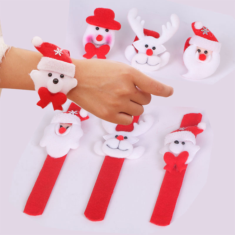 Pat ring bracelet handcuffs christmas merry christmas decorations supplies most adorable christmas ornaments