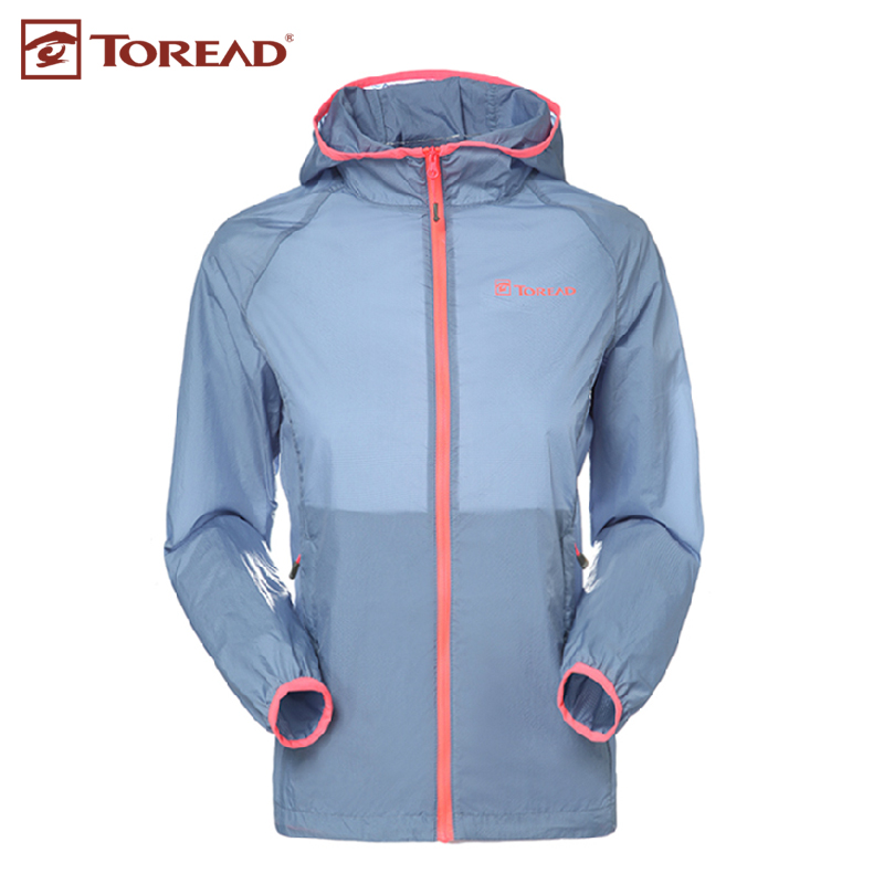 Pathfinder ms. lightweight breathable sun protection clothing skin clothing spring and summer outdoor skin coat taec82291