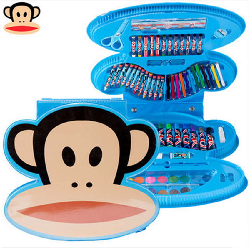 Paul frank monkey mouth monkey mouth monkey style watercolor pencil crayons student painting painting kit gift