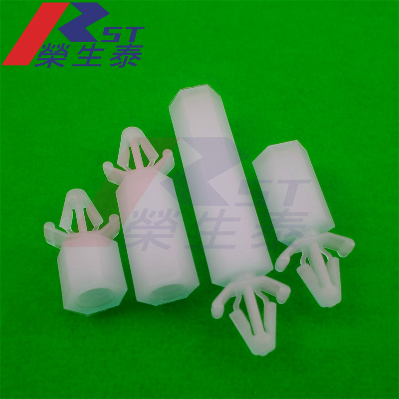 Pc board isolation column spacers pcb bracket aircraft type push in carriage elevate column spp