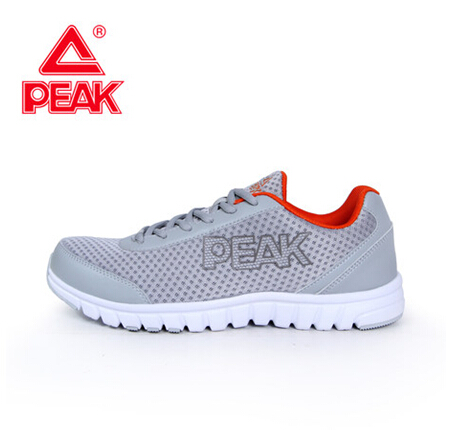 Peak/olympic men's deodorant breathable mesh running shoes men slip outdoor sports shoes running shoes e41047h