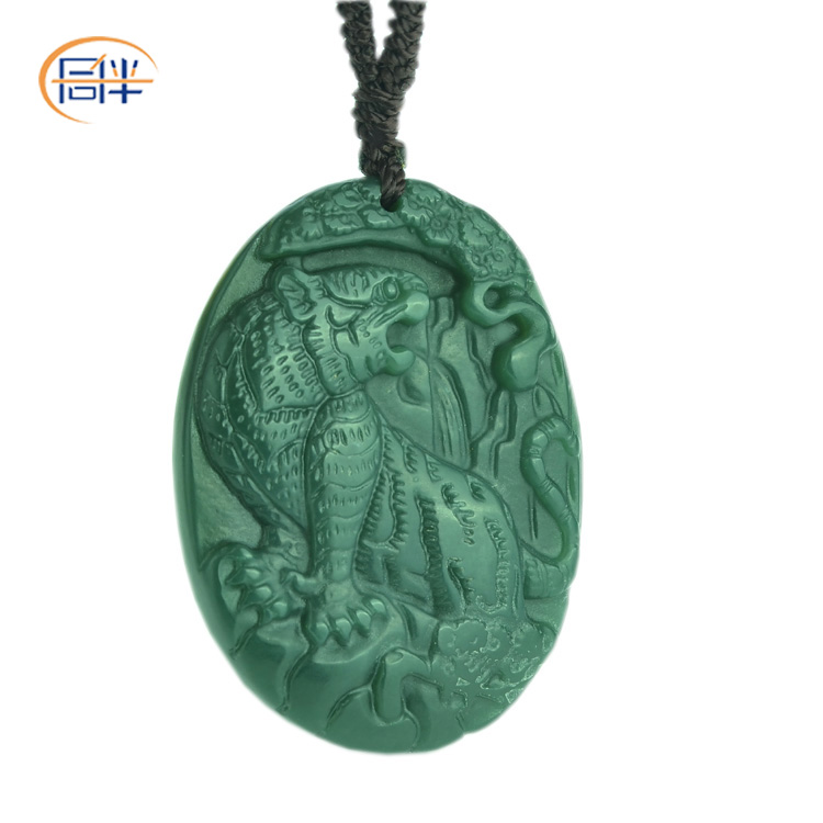 China green tiger print china green tiger print shopping guide at get quotations peers and nephrite jade pendant green jade pendant natural jade jade tiger tiger pendant pendants men mozeypictures Images