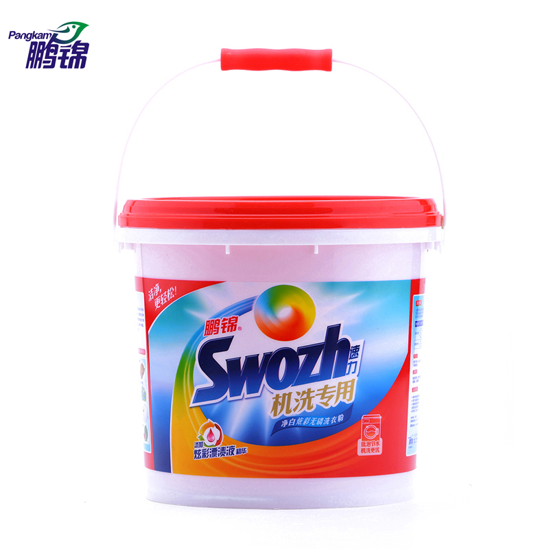 Peng jin speed power whitening concentrated phosphorus washing powder keg dedicated machine wash g bright superior low foam detergent Powder