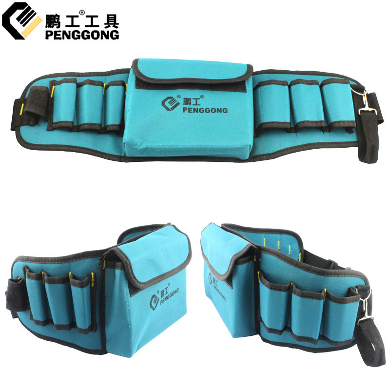 Peng workers versatile tool pockets waist bag canvas tool bag tool bag electrician telecommunications package
