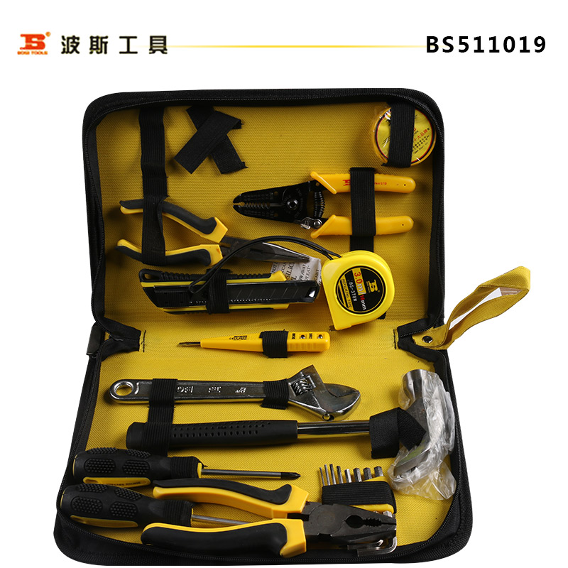 Persian tools hardware household tool set household cloth set 19 pieces of home kit bs511019