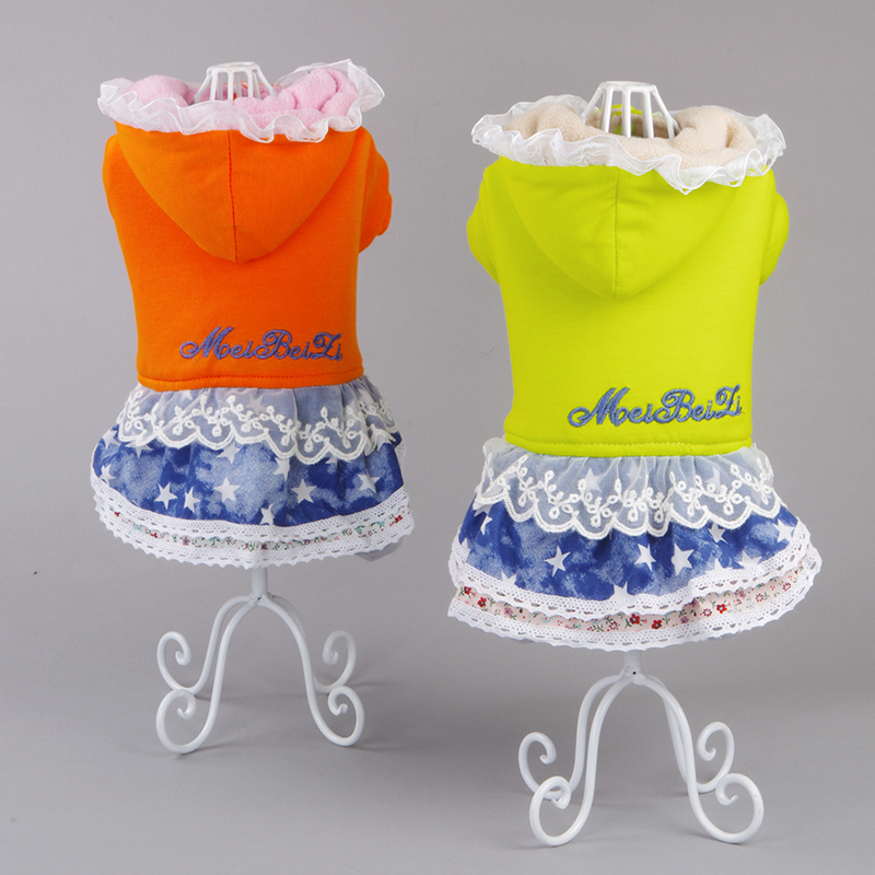 Pet clothes dog legs in the fall and winter lovely thick cotton teddy clothes fall and winter clothes dog clothes