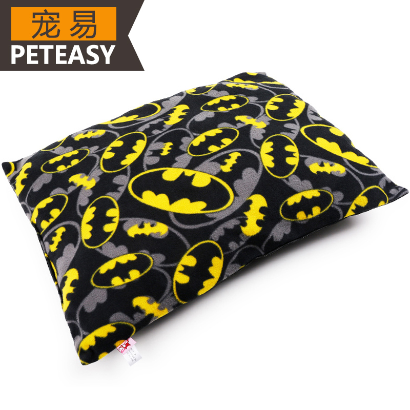 Pet kennel teddy vip pomeranian puppy warm bat man for all seasons cushion pad kennel pet supplies