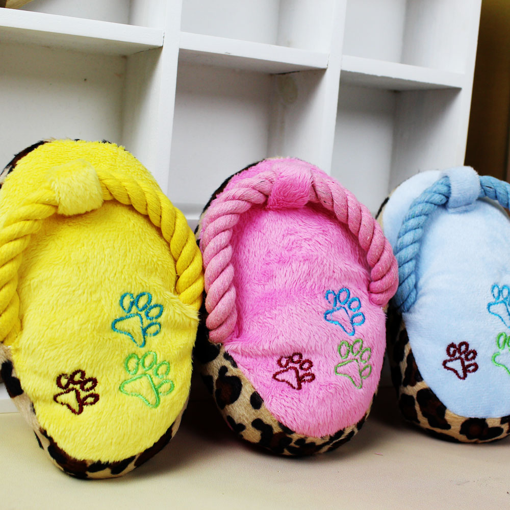 Pet toys/dog toys/pet toys plush toys/sound toy/small dog pet dog toy slippers