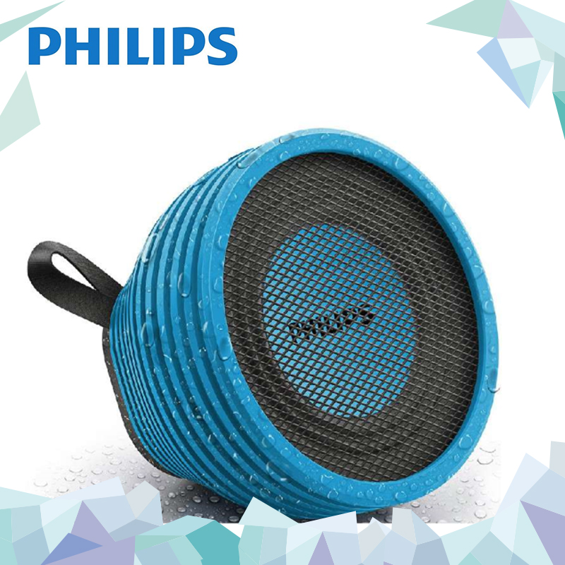 Philips/philips sb2000 subwoofer wireless bluetooth speaker mini portable outdoor waterproof stereo