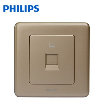 Get Quotations Philips Switch Socket Org Series Cocoa Color Computer Eight Core 86 Type Wall