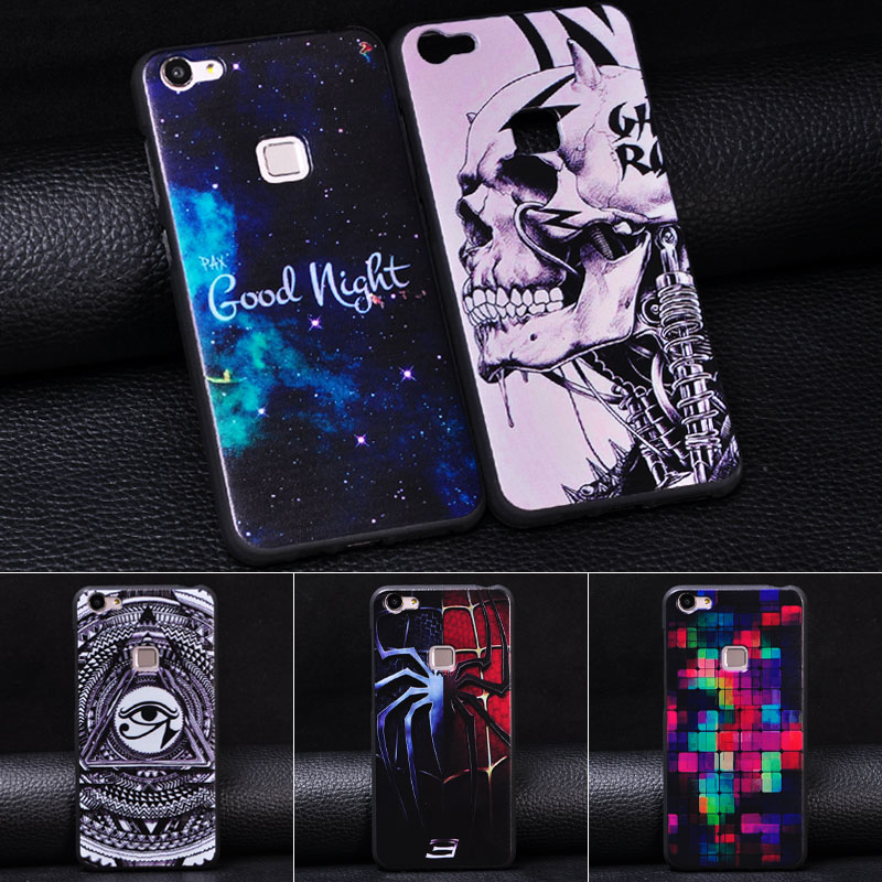 Phone shell mens vivox6s creative vivox6 bbk phone shell soft shell influx of female models silicone x 6a DL0