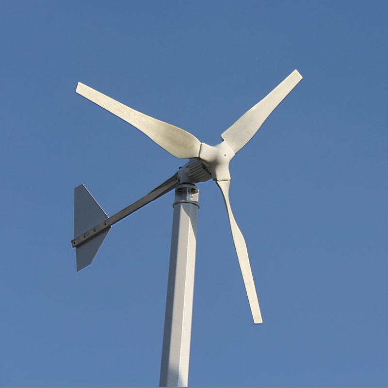 Photosynthetic 10000W windmill wind and solar wind generator 10kw household fan wind power generation system