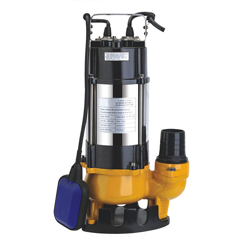 Photosynthetic 2200W farmland irrigation drainage pump sewage pump sewage pump submersible pumps sewage pump sewage pump automatic pump
