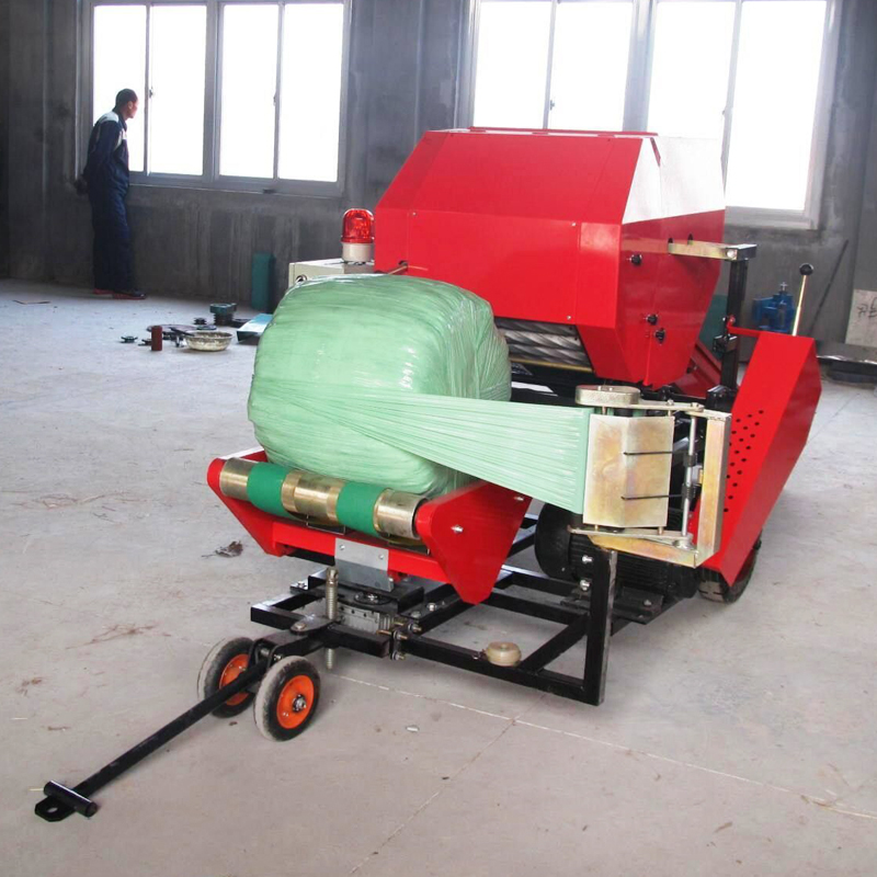 Photosynthetic capsule silages balers forage cornstalk envelope packing machine automatic packing machine