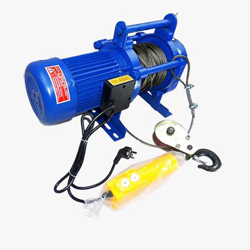 Photosynthetic electric winch 1t1. 5T2T small electric hoist electric hoist crane crane