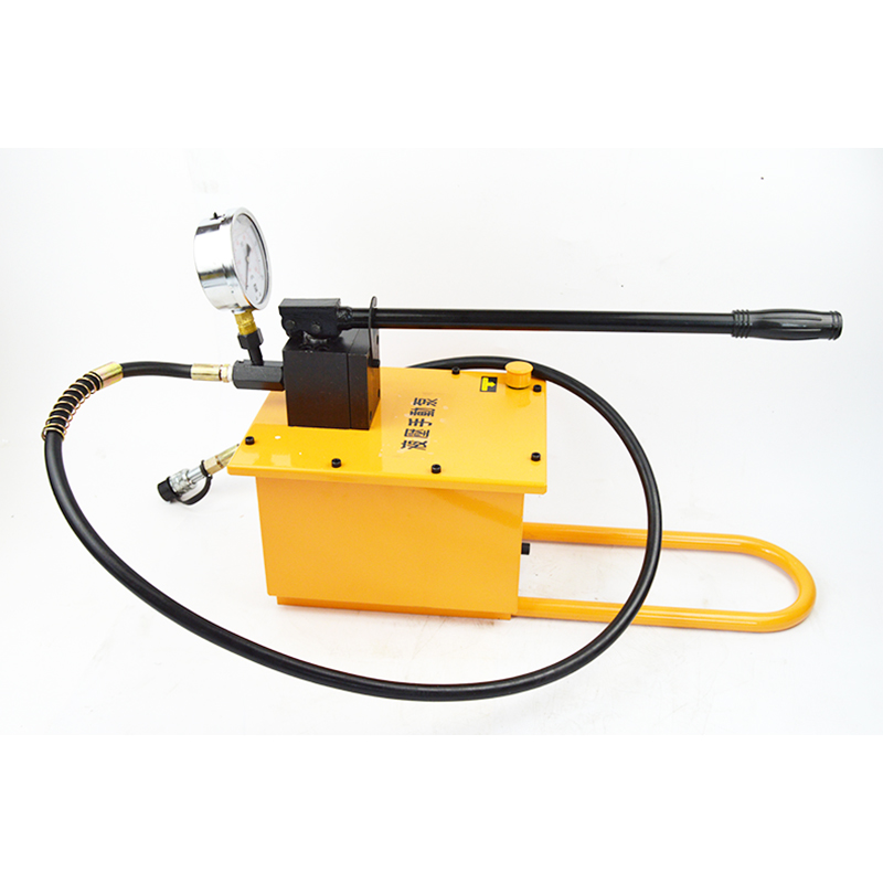 Photosynthetic manual hydraulic manual hydraulic pump high pressure pump pressure machine single loop ultra high pressure pump hydraulic pump