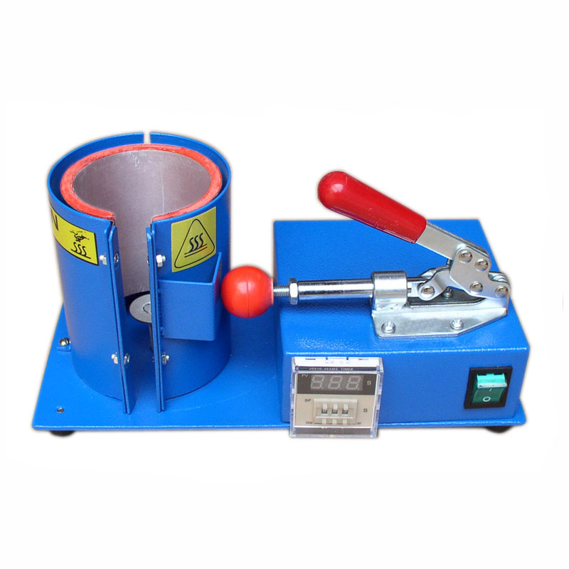 Photosynthetic mini baking cup machine mini digital baking cup machine cup machine cup machine heat transfer stamping digital perm machine