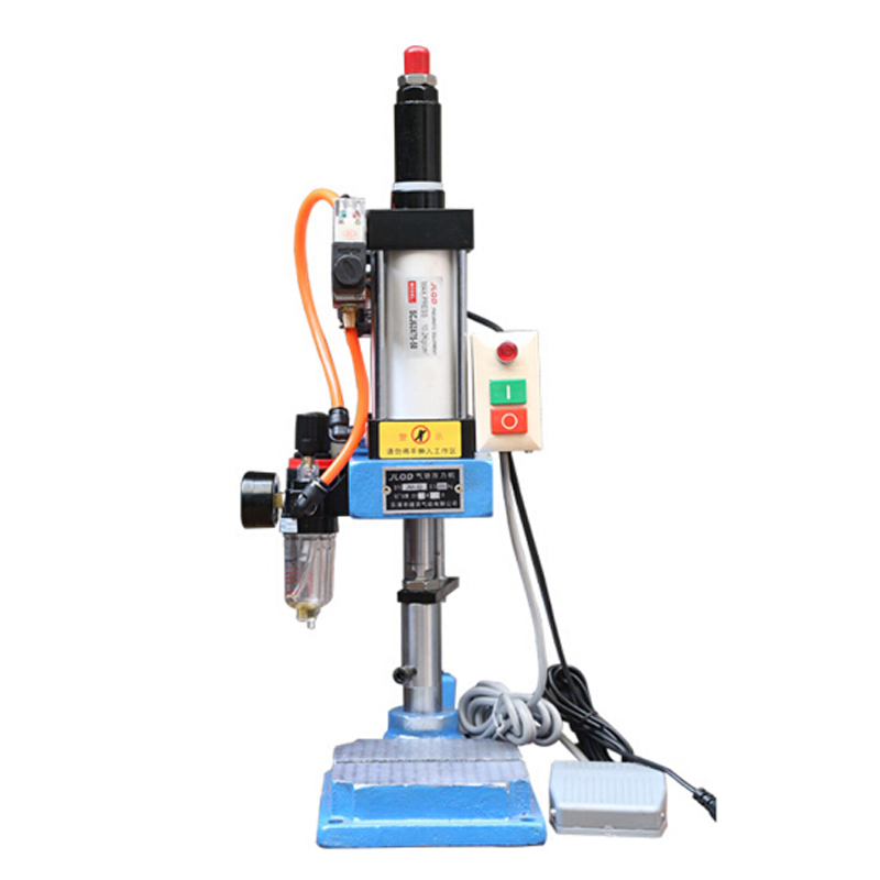 Photosynthetic pneumatic presses small pressure single column foot machine foot 200kg small desktop punch punch punch presses