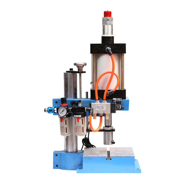 Photosynthetic pneumatic pressure machine micro single column 1300kg pneumatic presses punch punching machine pressure punching machine punching machine