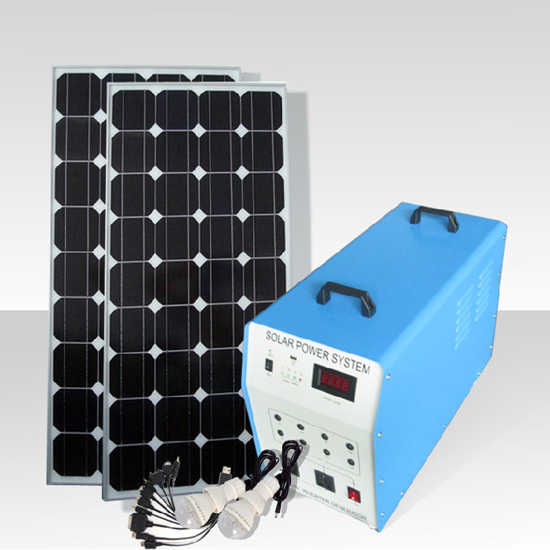 Photosynthetic silicon can output w w solar power system solar input home tv one machine