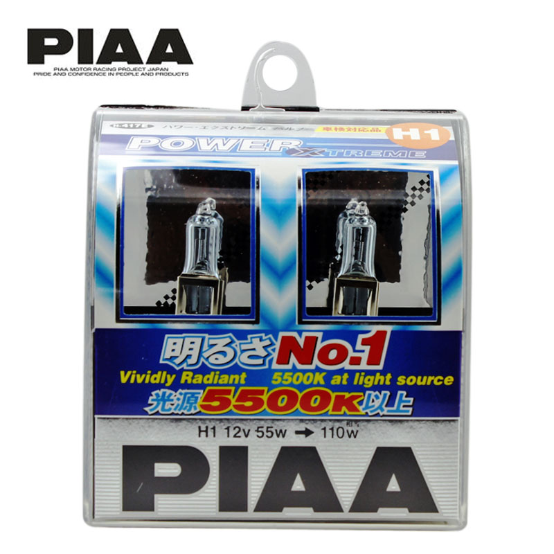 Piaa car halogen headlights brightening type H-417 nm23-h1 55 w 4000 k yellowish white
