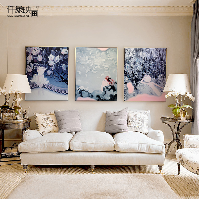 Pictures thousand like someone chia academy series artist manufacturing triple bedroom living room decorative painting murals