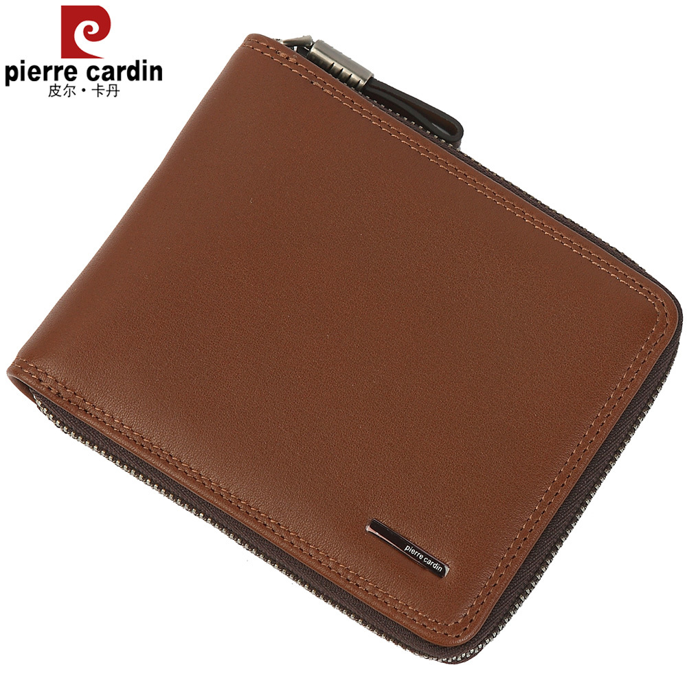 Pierre cardin/pierre cardin pierre cardin men's business leather wallet men wallet new