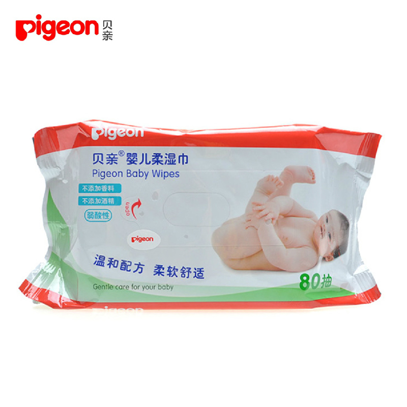 Pigeon wipes baby wipes ass special baby wipes paper wipes newborn baby wipes wipes pp 80 pumping shipping