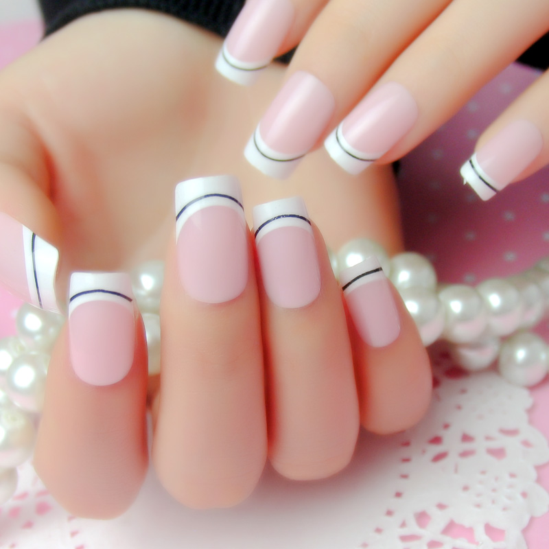 China Pink French Nails, China Pink French Nails Shopping Guide at ...