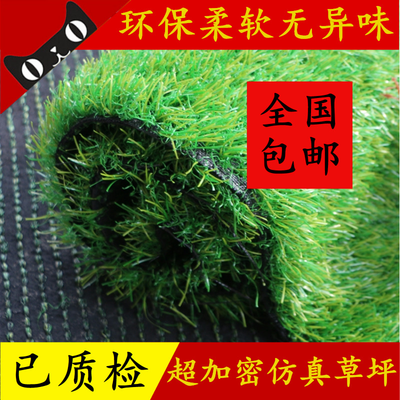 Charmant Plastic Lawn Artificial Turf Artificial Fake Turf Nursery Decoration Green  Carpet School Outdoor Roof