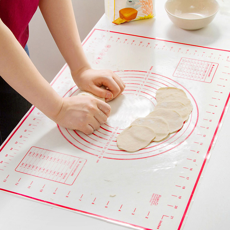 Platinum silicone mat temperature dough pad slip mat dough does not stick bakeware chopping board dough ganmian