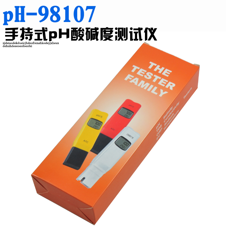 Pocket 0.05pH PH-98107 high precision digital pen ph meter ph tester ph meter